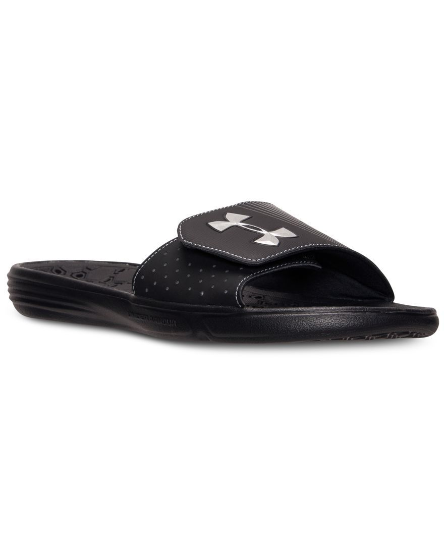 2f394c88e40 Under Armour Men s Playmaker Iv Flip-Flops from Finish Line ...