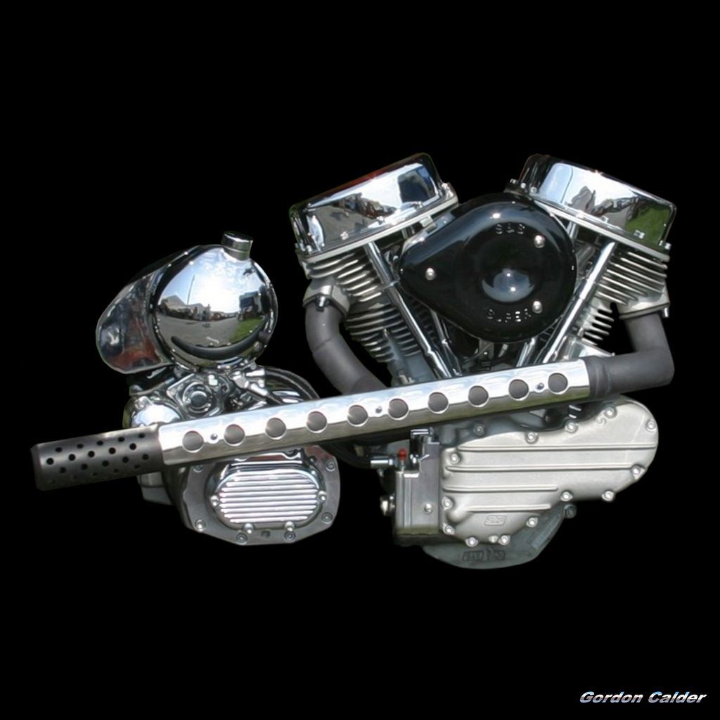 NO 24: HARLEY DAVIDSON S&S PANHEAD MOTORCYCLE ENGINE | Flickr