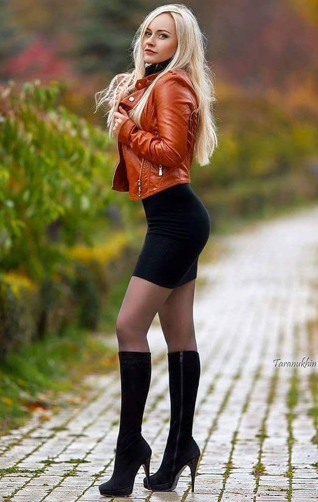 Sexy dresses with boots
