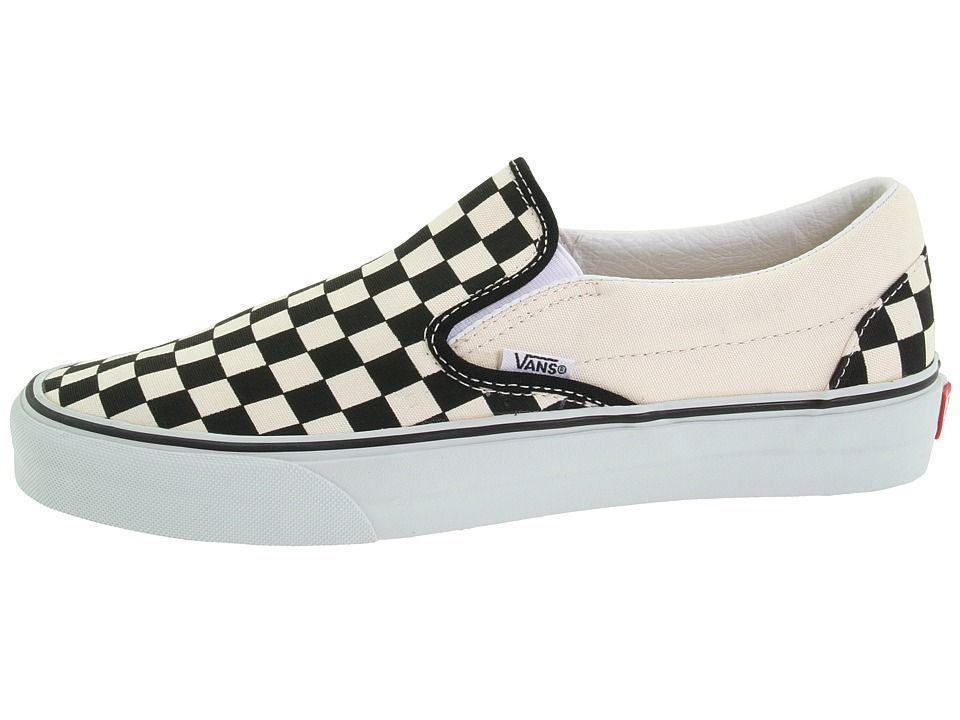 ee785a943ef Vans Classic Slip-Ontm Core Classics Shoes Black and White Checker White  (Canvas)