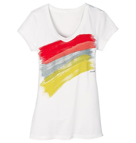 Curves Brushstroke Tee in Womens (Size 1X and 2X)  Reg. $17.99  Sale $9.99  SAVE 44% While Supplies Last