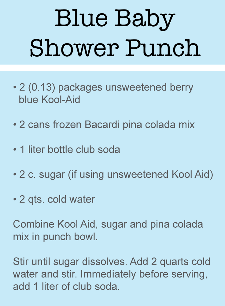 The Best Baby Shower Punch Recipes Pinterest Baby Shower Punch