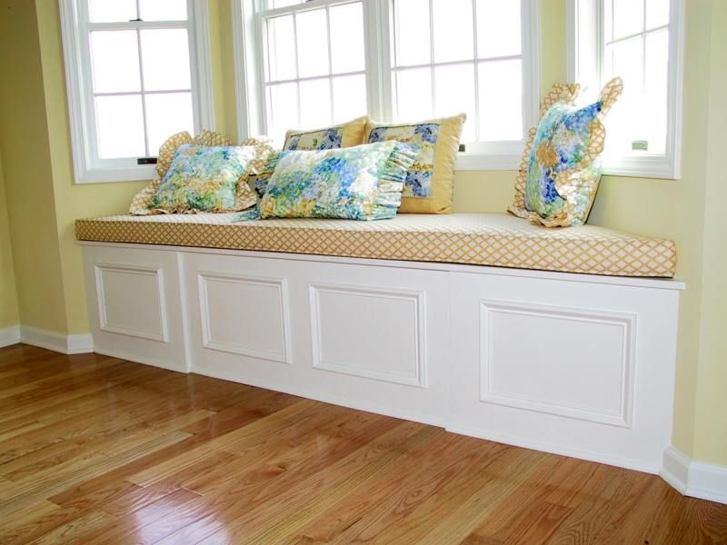 Bay Window Seat Cushion Maybe Smaller And In A Kids Room Window Seat Design Window Seat Storage Home Decor Bedroom