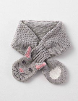 83e598d639e Our animal hat and mittens set is a delightful way to keep your little  critter warm. Grey Marl Rabbit Novelty Scarf Boden