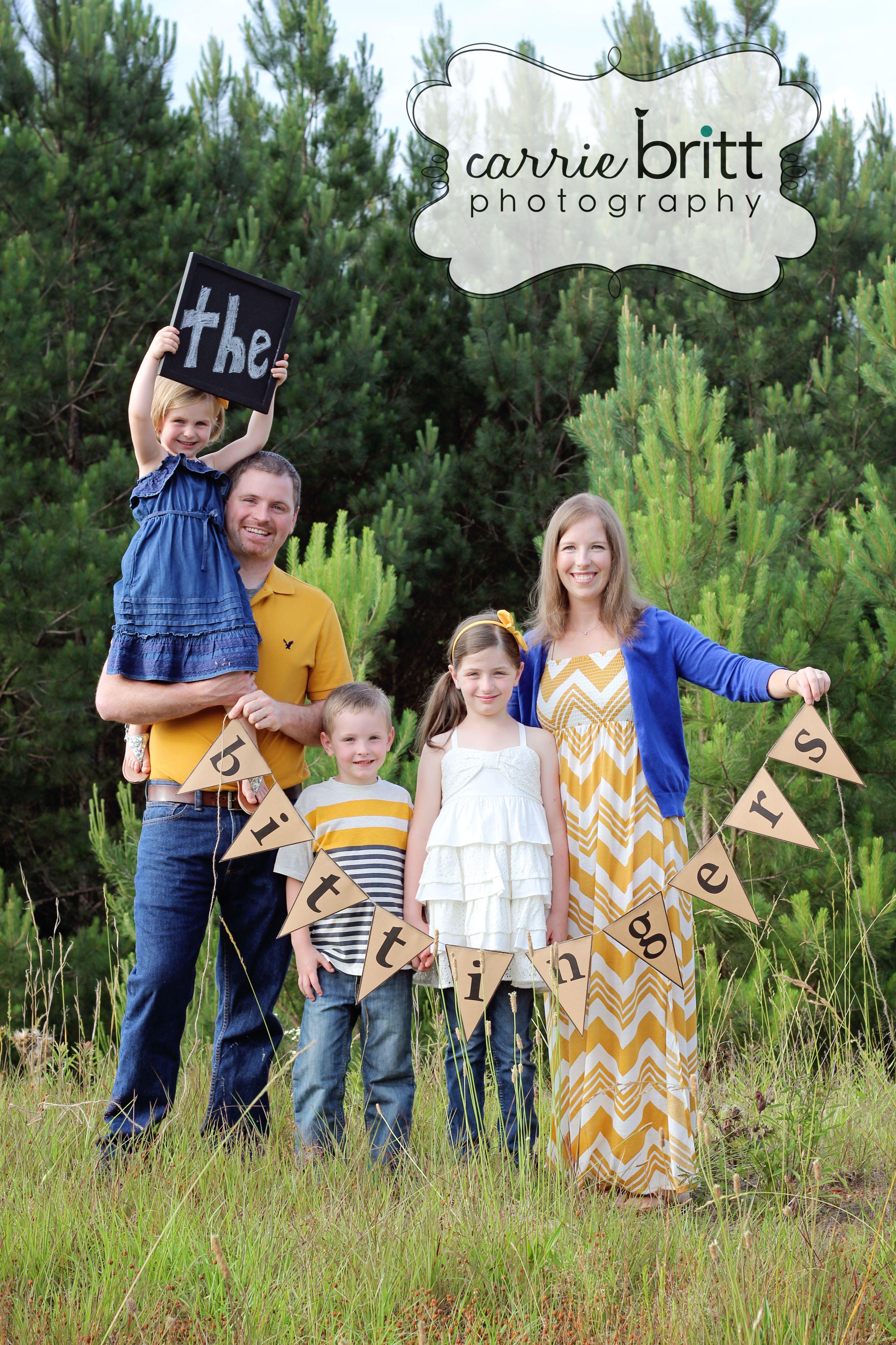family picture idea!