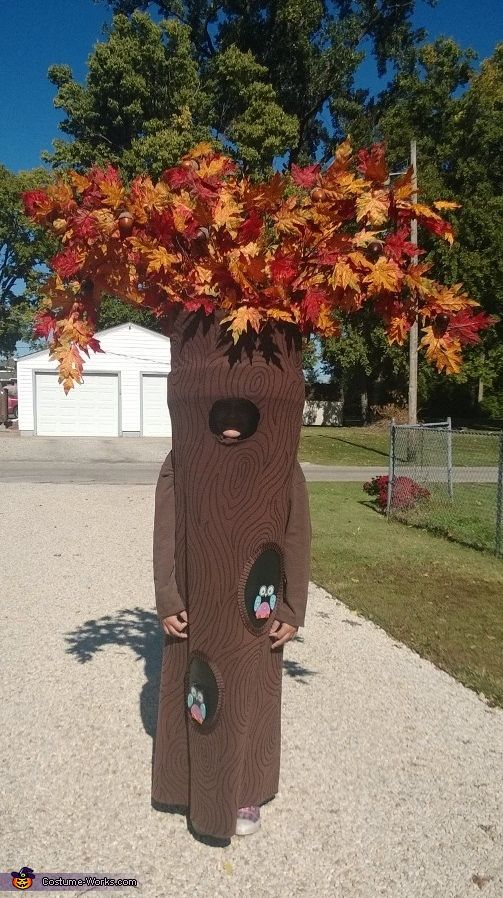 Tree Halloween Costume Contest at