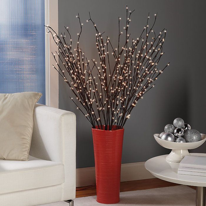 Details About Electric Pre-Lit Willow Branches