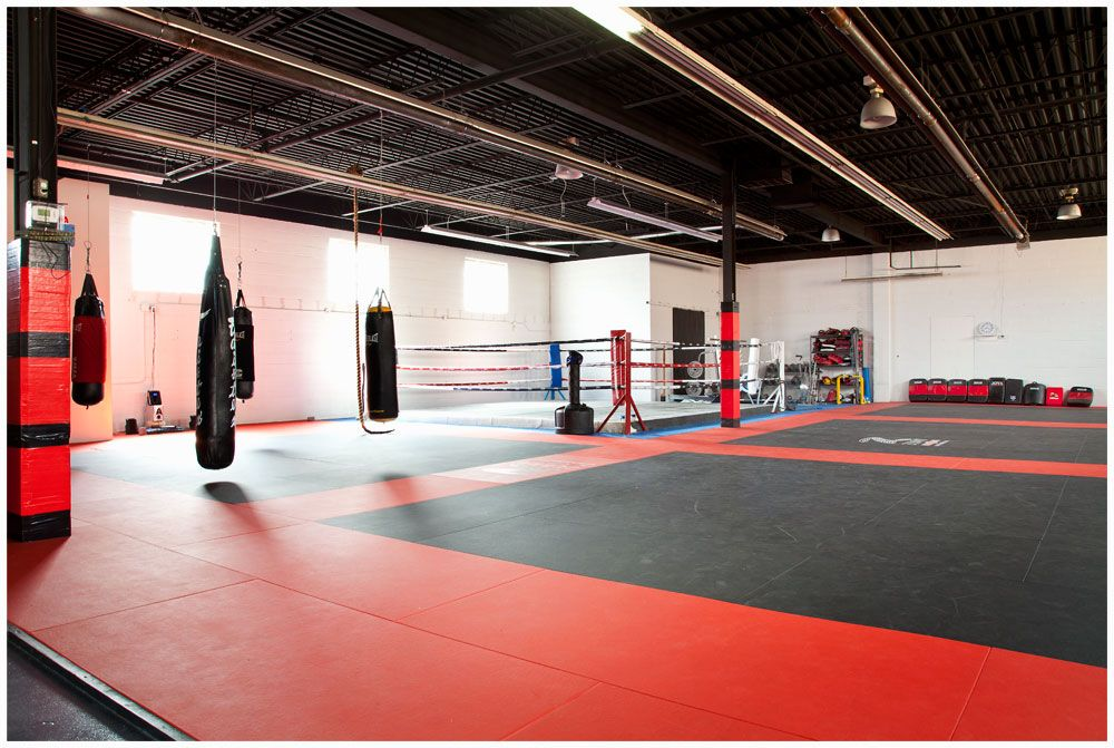 Look and feel of my gym! Boxing gym design, Mma gym
