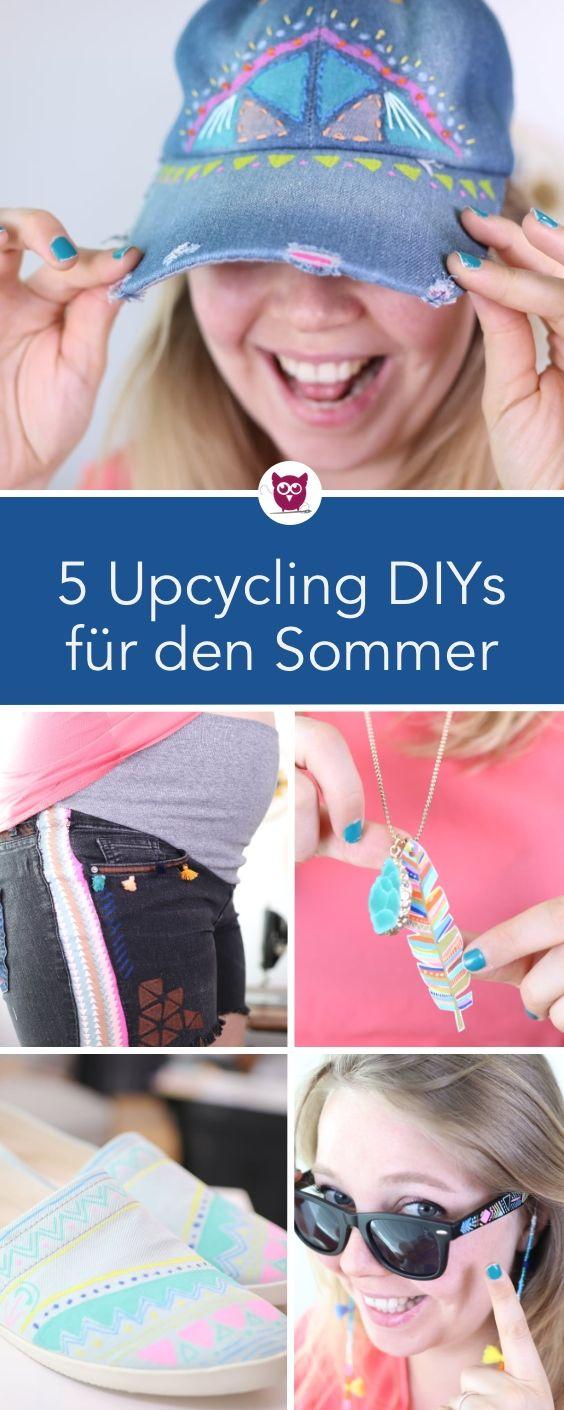 5 Upcycling DIYs für den Sommer & das Festival DIY Eule