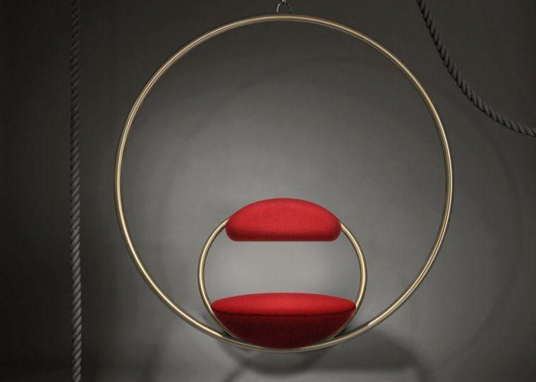 Si ge suspendu design pour un int rieur original et l gant decor mobilier design mobilier - Siege suspendu salon ...