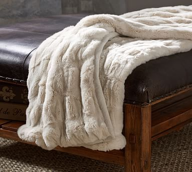 Faux Fur Ruched Throws Home Library Craft Room Pinterest