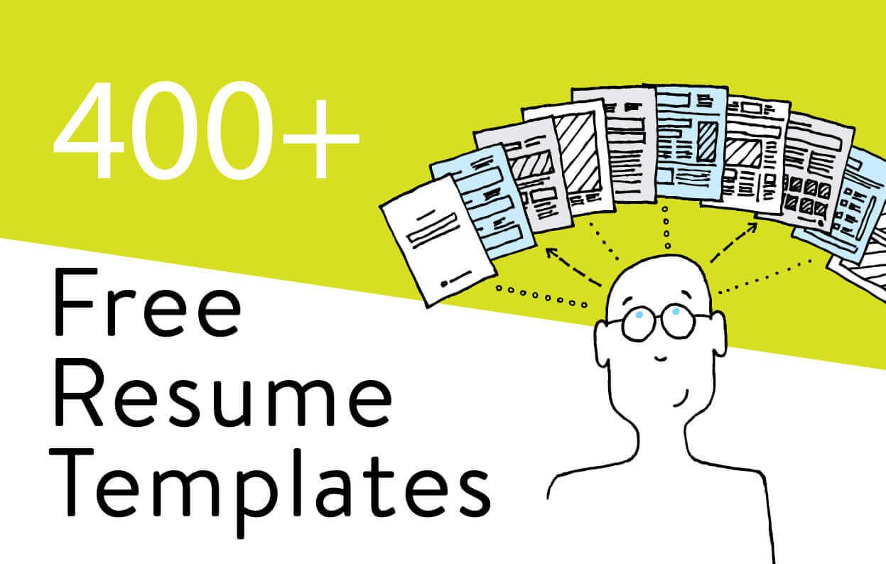 275  free resume templates you can use right now