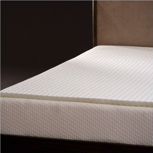 Comfort Magic Ventilated 1 Inch Memory Foam Mattress Topper Full