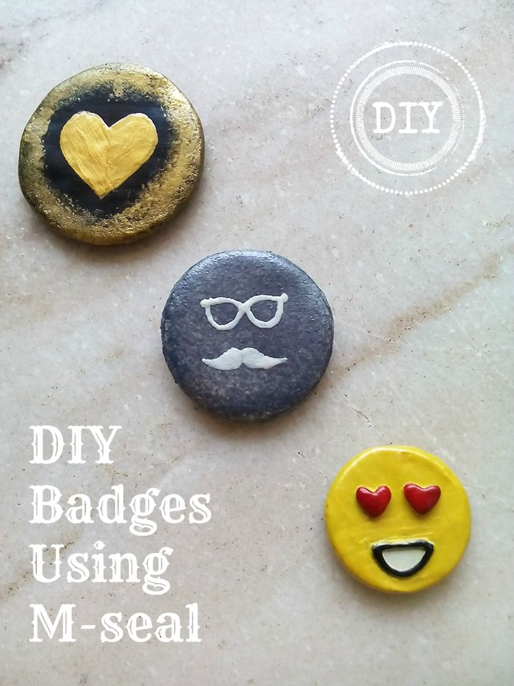 How to make DIY Badges using M-seal | DIY Empress | How to