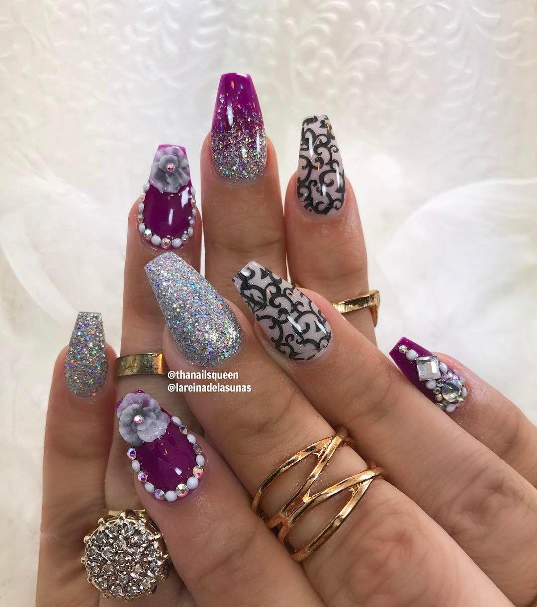 Pin by Alisha Needham on Nails | Pinterest | Snapchat and Instagram