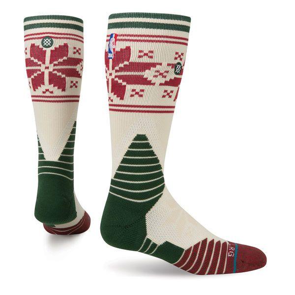 Men's NBA Stance Christmas Day Crew Socks   Crew socks, NBA and Socks