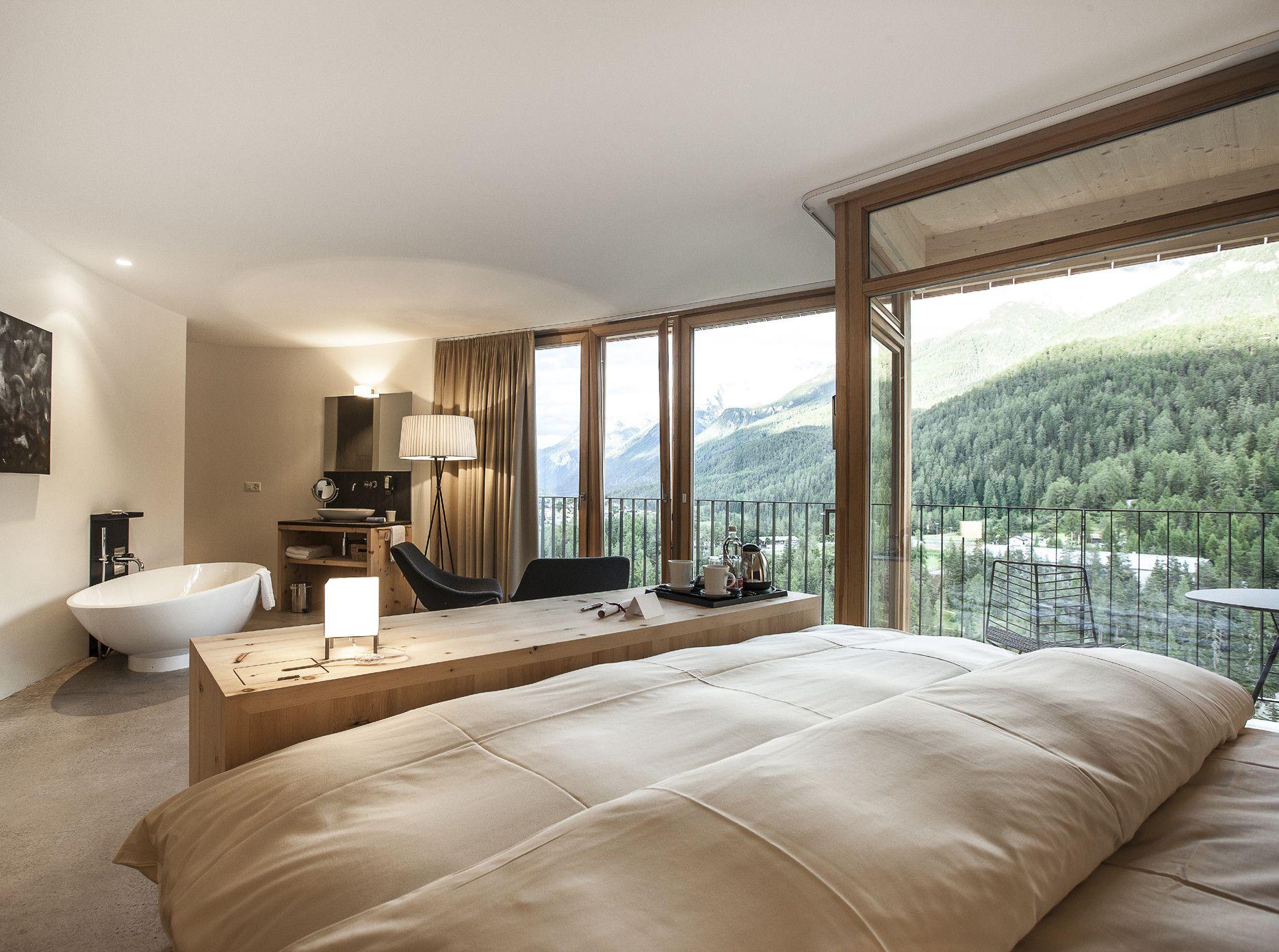 hotel arnica in scuol - bad und sanitär - hotel/gastronomie, Wohnzimmer dekoo