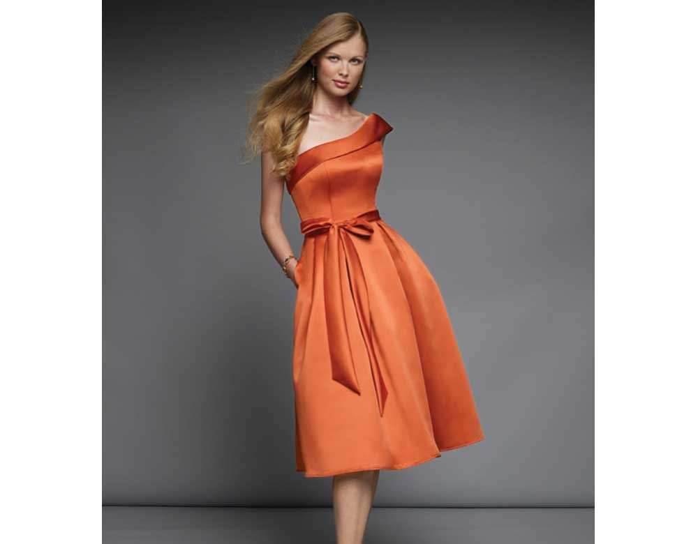 Orange Cocktail Dress | Orange Cocktail Dresses for Exciting Look ...