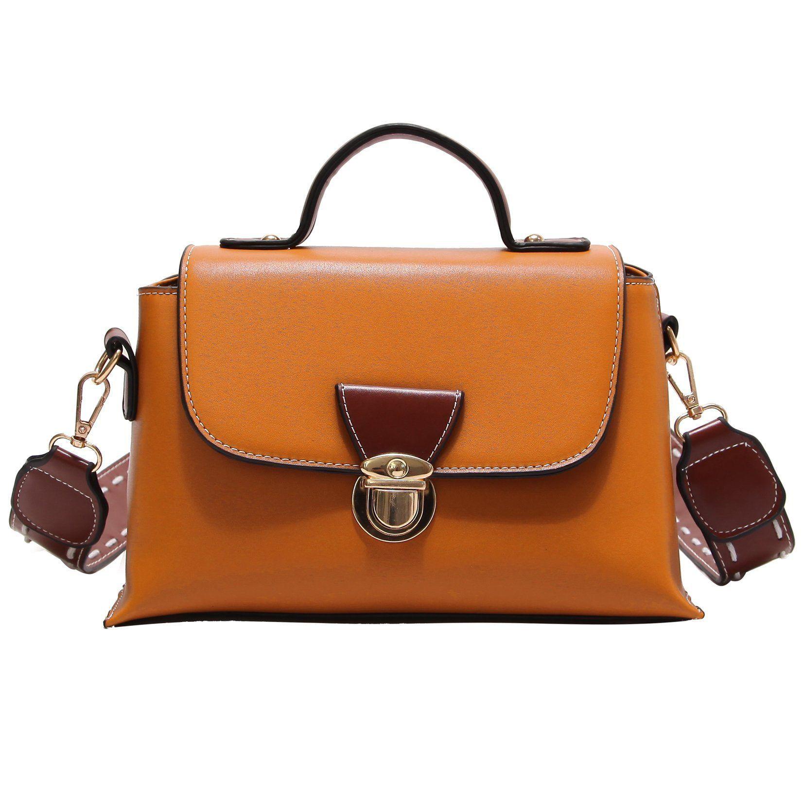 6bb66ae0f1 rofozzi  Pocketbook Women Handbag ~ Top-Handle Purse ~ Size  Small ~ Color   Brown  rofozzi  handbags  women spocketbooks