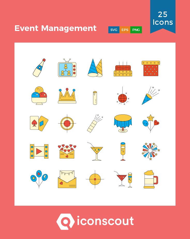 Download Event Management Icon Pack Available In Svg Png Eps Ai Icon Fonts Event Management Icon Pack Icon