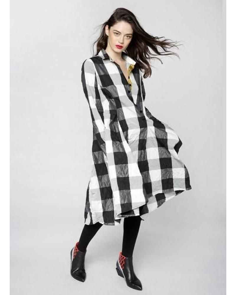 4405914c5a4 Alembika Alembika Giant Check Dress   Alembika   Dresses, Check ...