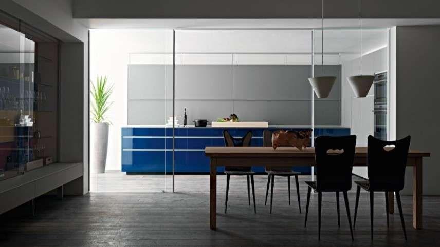 Cucina e soggiorno separati | Idee per la casa | Pinterest ...