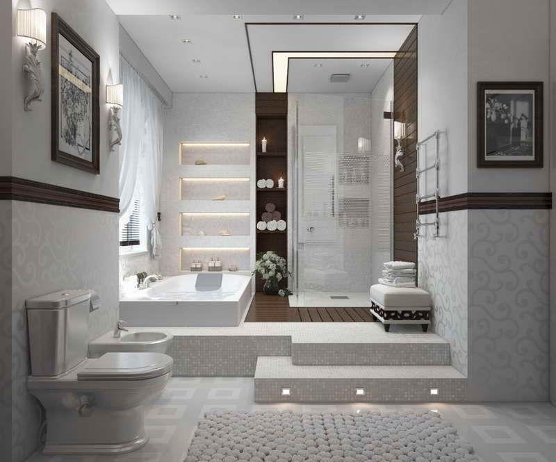 Basement Bathroom Remodeling Modern Basement Bathroom Renovation ~ Httplanewstalkdoit .