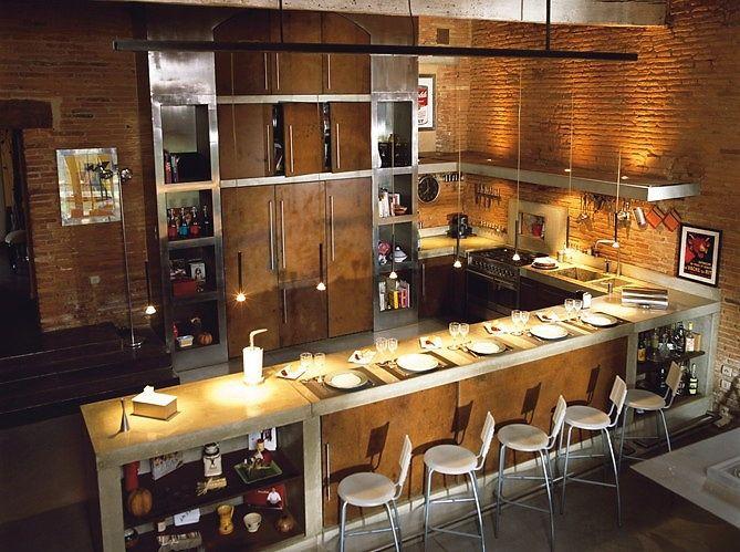 cuisine-ancienne-maison-pierres | Idées mobilier pour la maison ...