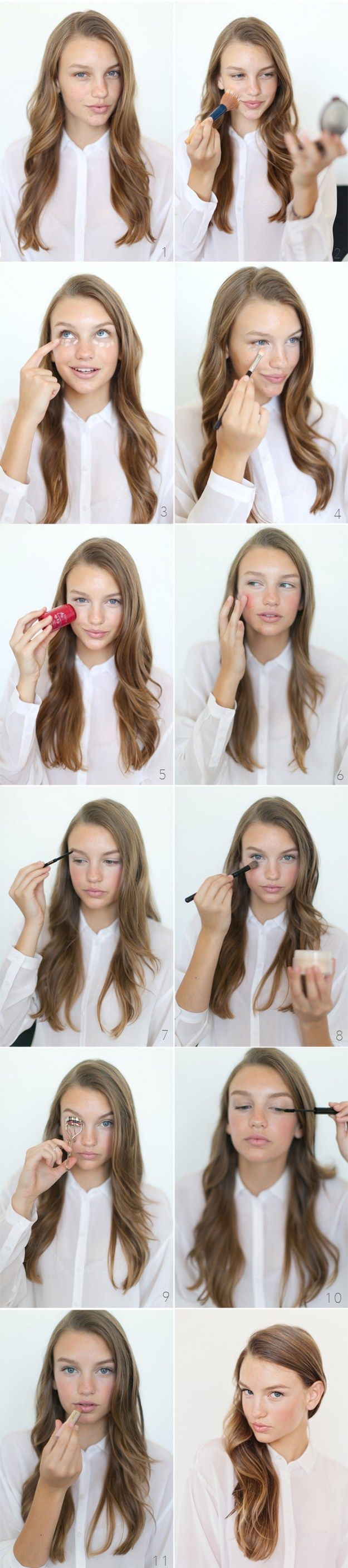 How to Do Easy Makeup for Work | Natural Look by Makeup Tutorials at…