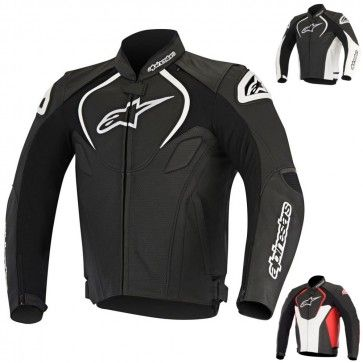 Dp Alpinestars Jaws Perforated Leather Motorcycle Jackets