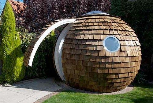 Archipod, la cabane-sphère @ MultiCristo | Domes et demi-rondes ...