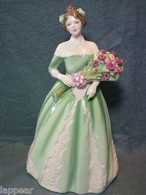 Royal Doulton Bone China Happy Birthday 1994 HN3660 EXCELLENT. Stunning a beautiful bone china figurine.