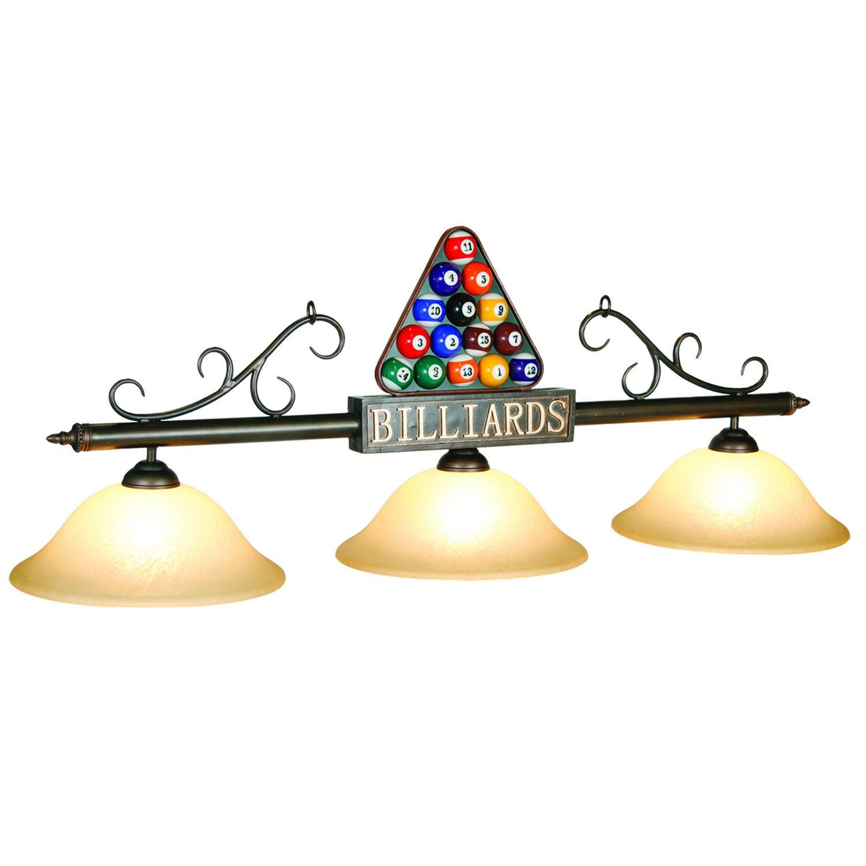 Glass Billiard Lighting BIL-B56
