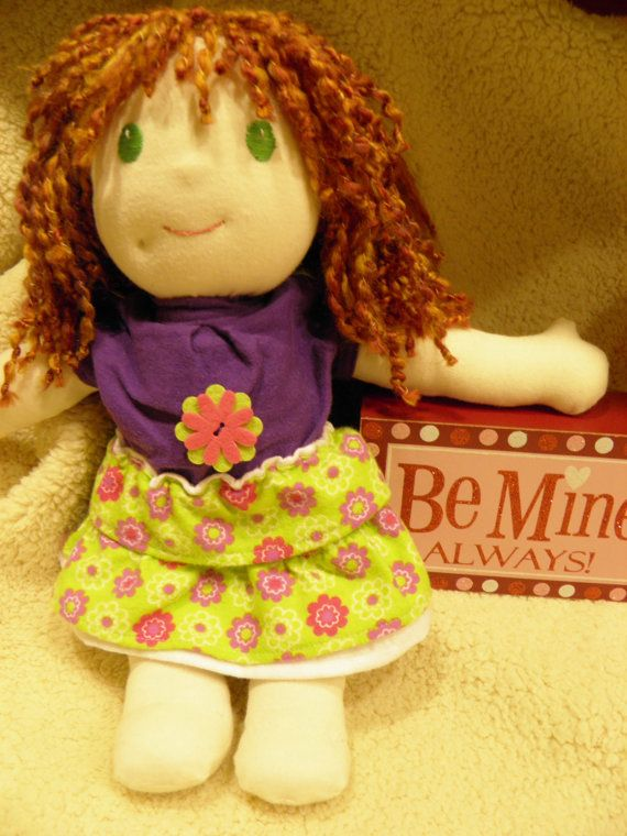 Meet Chloe an Adorable Spunky Lovable Red Head by SewlFulStitches, $100.00