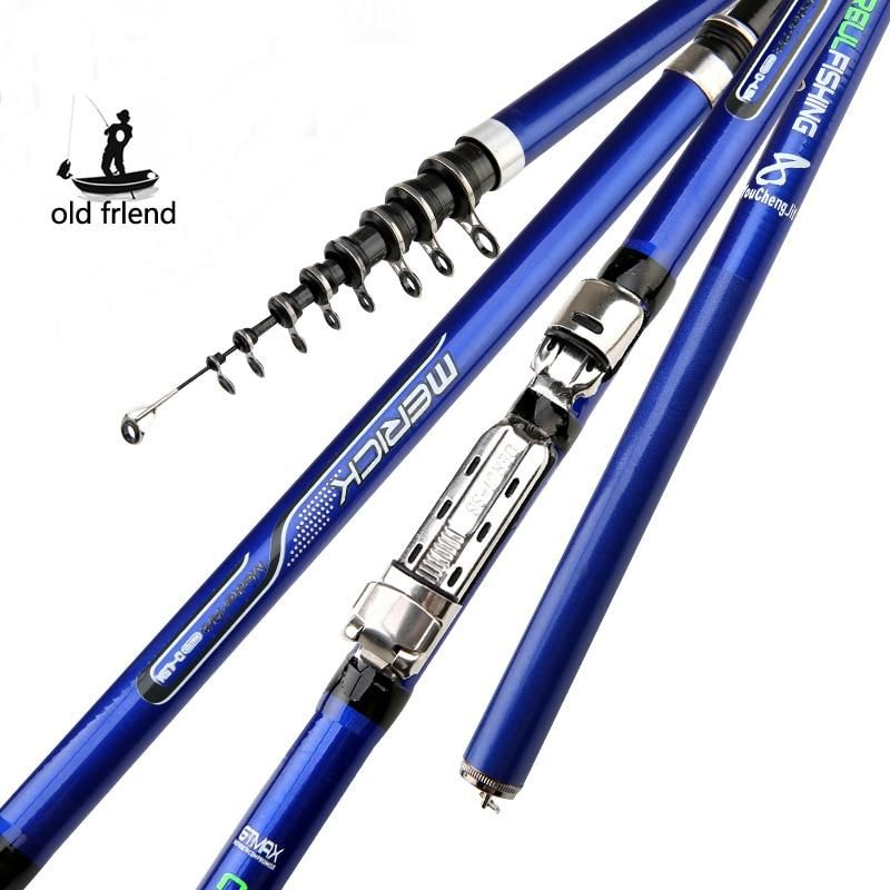 carbon fiber 3.6M 4.5M 5.4M 6.3M Spinning Fishing Rod M