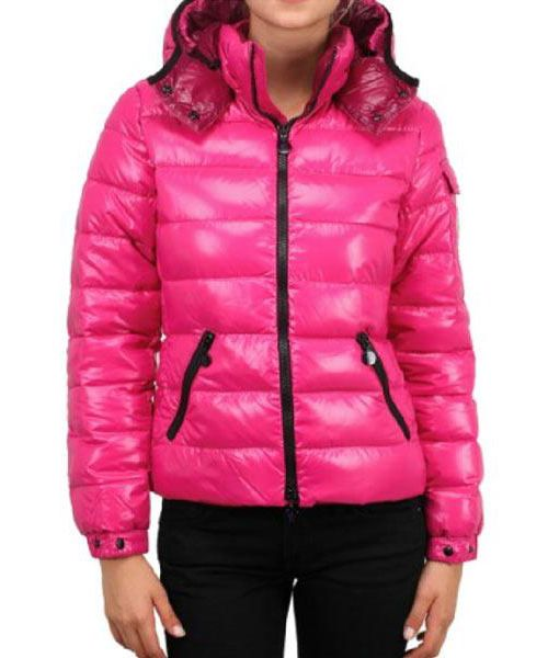 6966c0da129c Moncler Bady Winter Women Down Jacket Zip Hooded Pink! Only  271.9 ...