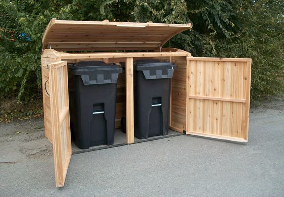 Oscar Waste Management 6x3 Garbage Can Shed Shed