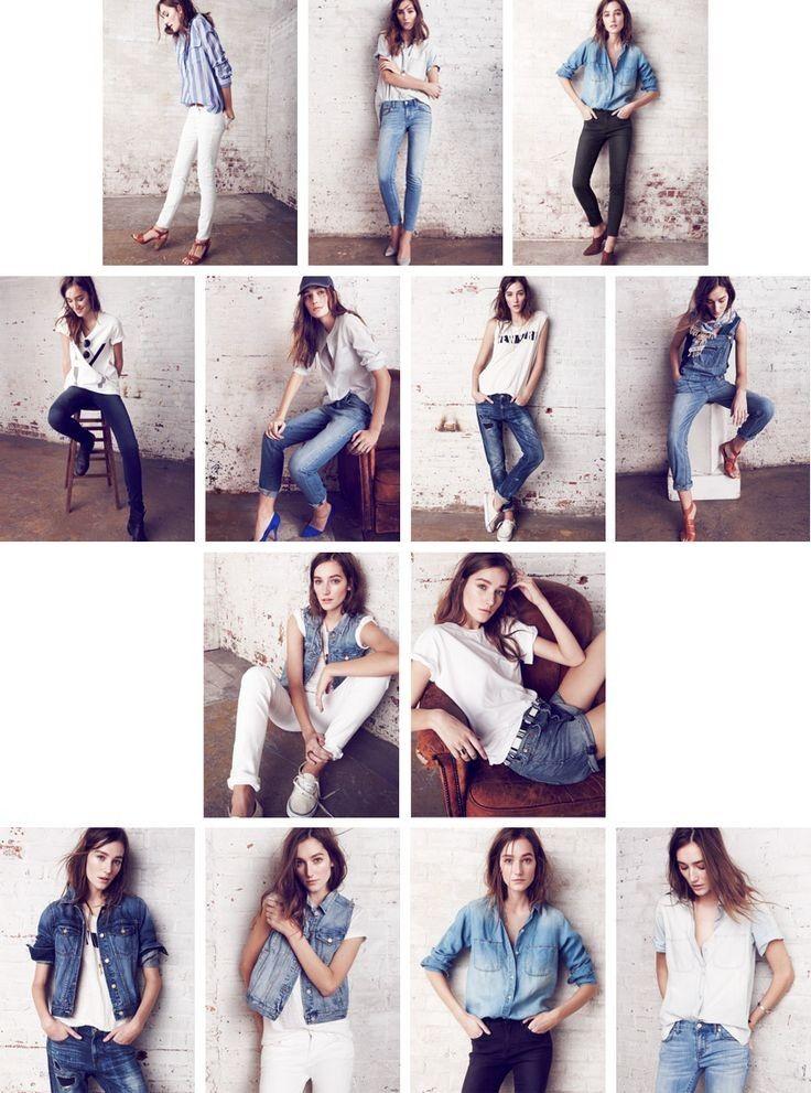 Fotografie Posen: The Denim Bar: Jeans, Jacken & Chambray