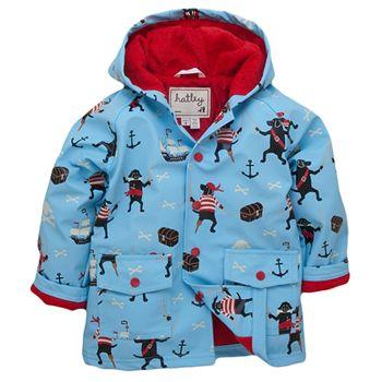 Powell Craft Boys Dinosaur Raincoat-Rain Mac.multicoloured