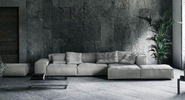 50 idées fantastiques de canapé d\'angle pour salon moderne | Canapes ...