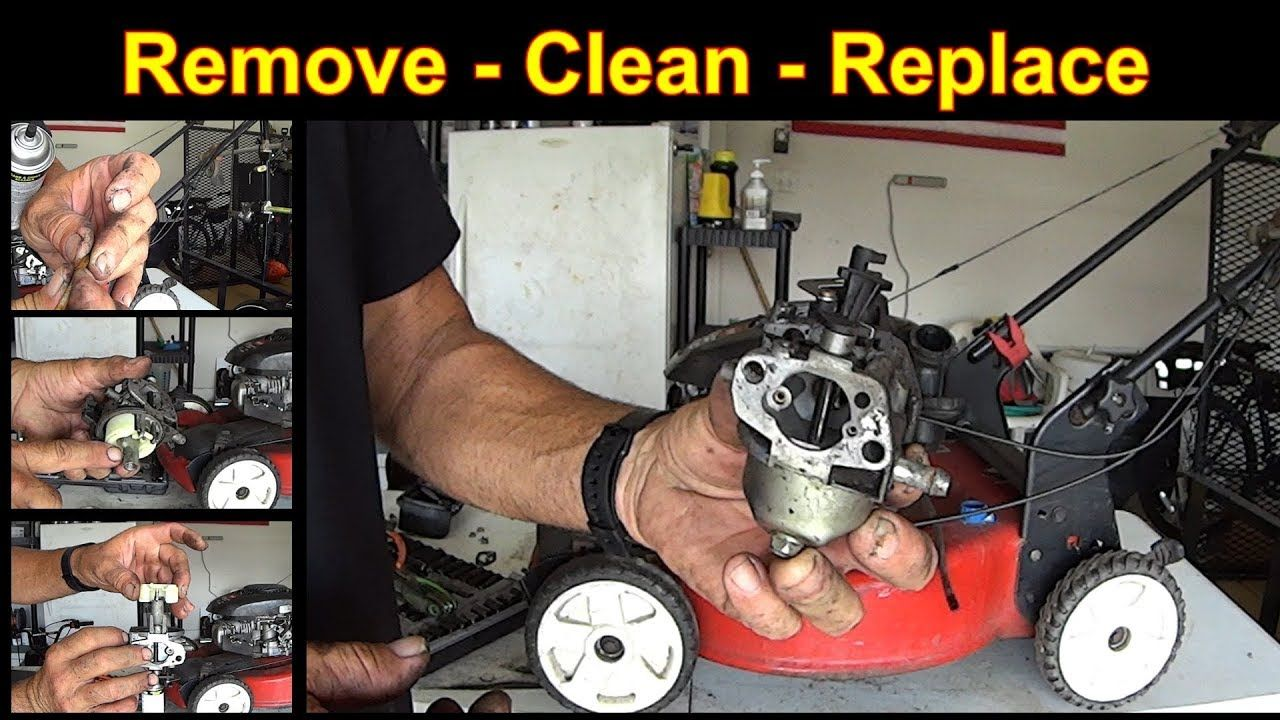 Lawn Mower Surging Small Engine Repair Off Engine