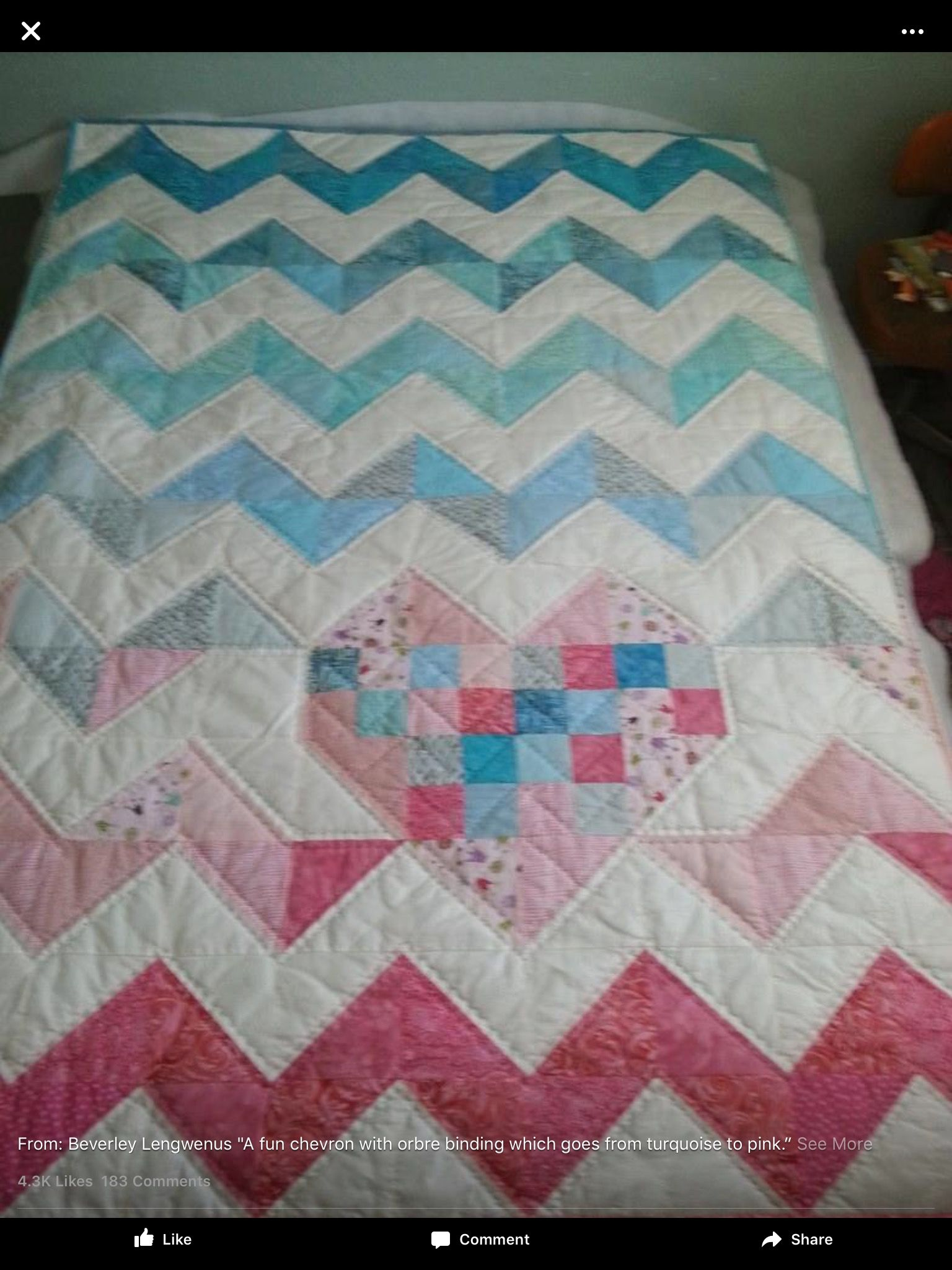 Quilting, Craft Ideas, Chevron Quilt, Sewing Ideas, Baby Quilts, Bees,