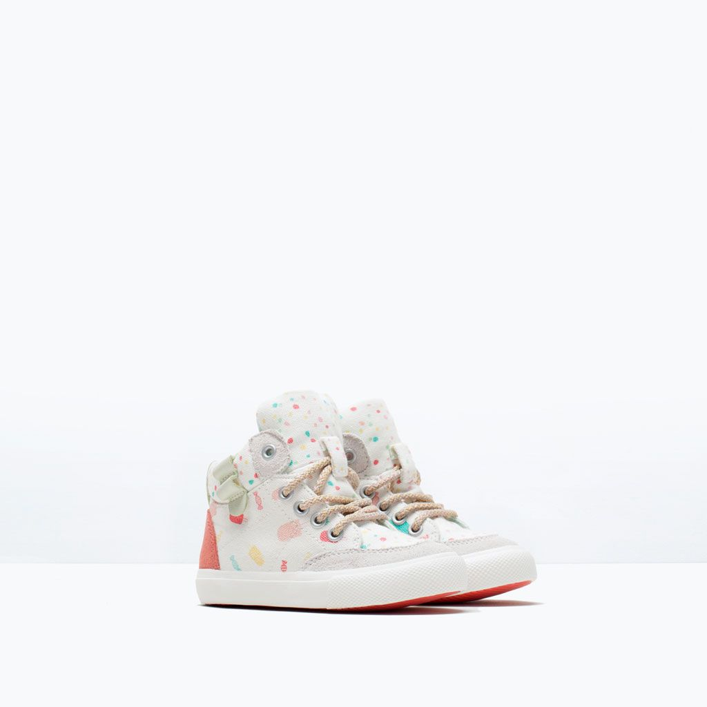ee18d9ee254d CANDY PRINT HIGH-TOPS-Shoes-Baby girl (3 months - 3 years)-KIDS | ZARA  United States