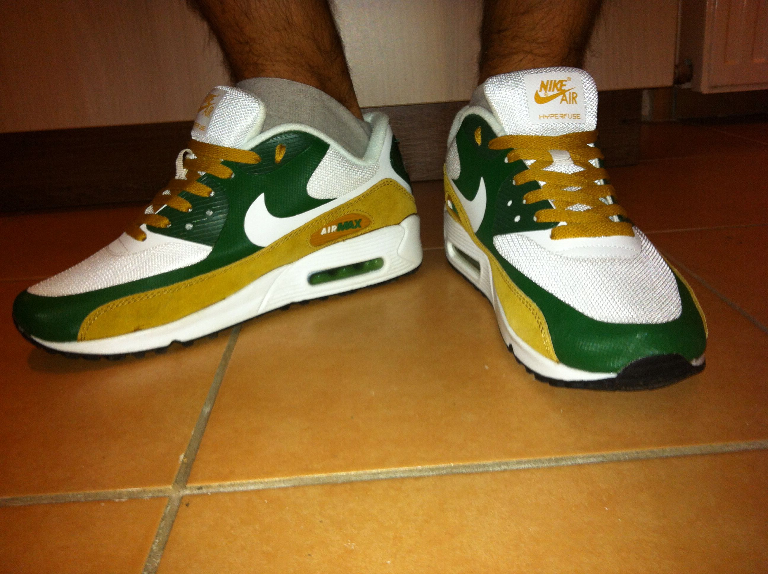 My New Green Bay Packers Beauty Nike Air Max 90 Hyperfuse Nike Air Max 90 Air Max 90 Hyperfuse Nike Air Max