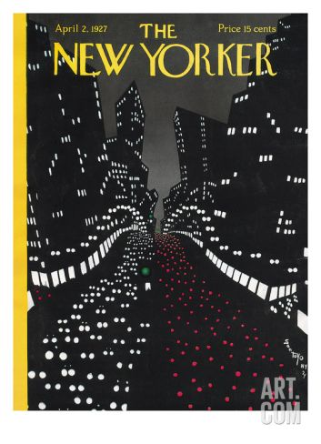 The New Yorker Cover - April 2, 1927 Regular Giclee Print by Toyo San at Art.com