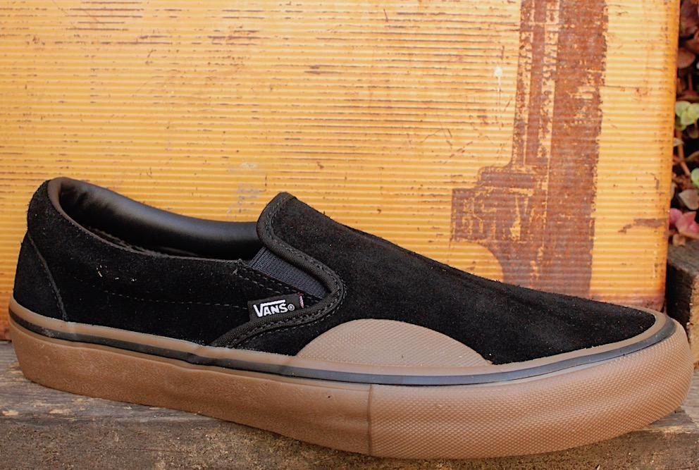Vans Slip-On Pro Rubber Blk/Gum | Vans