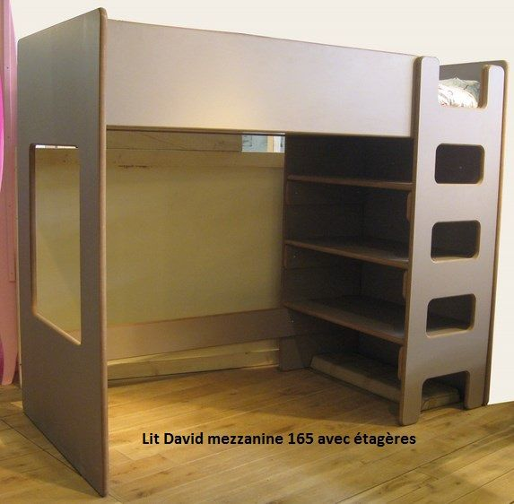 lit enfant ou adulte sur lev david mathy by bols fabrication europ enne en belgique face aux. Black Bedroom Furniture Sets. Home Design Ideas