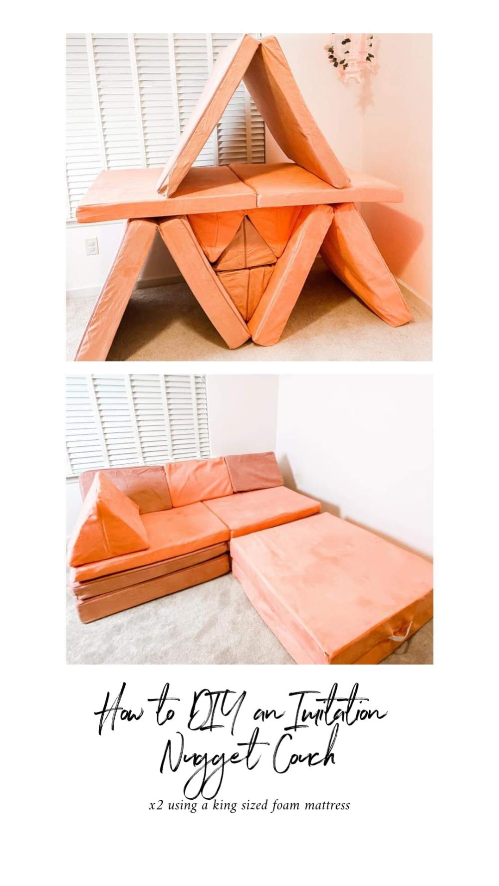 Part lounge spot, part tumbling mat, part fort, a Nugget ...