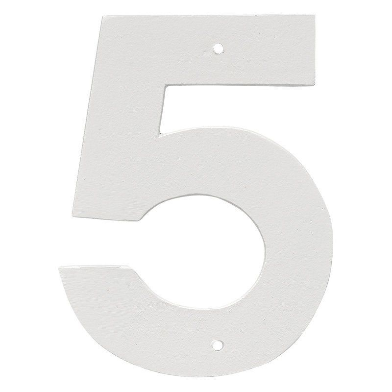 Montague Metal Products 24 in. Helvetica House Number - HHN-5-24