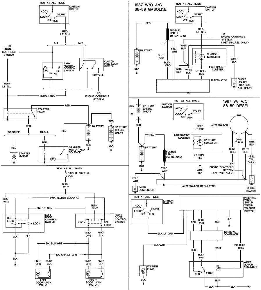 88 Ford F 250 Wiring Schematic For 1962 Ford Truck Wiring Diagram Audi A3 2005vtx Jeanjaures37 Fr